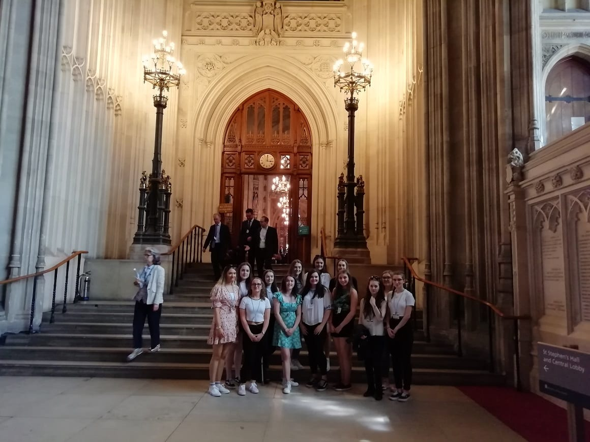 Year 12 students visit Parliament