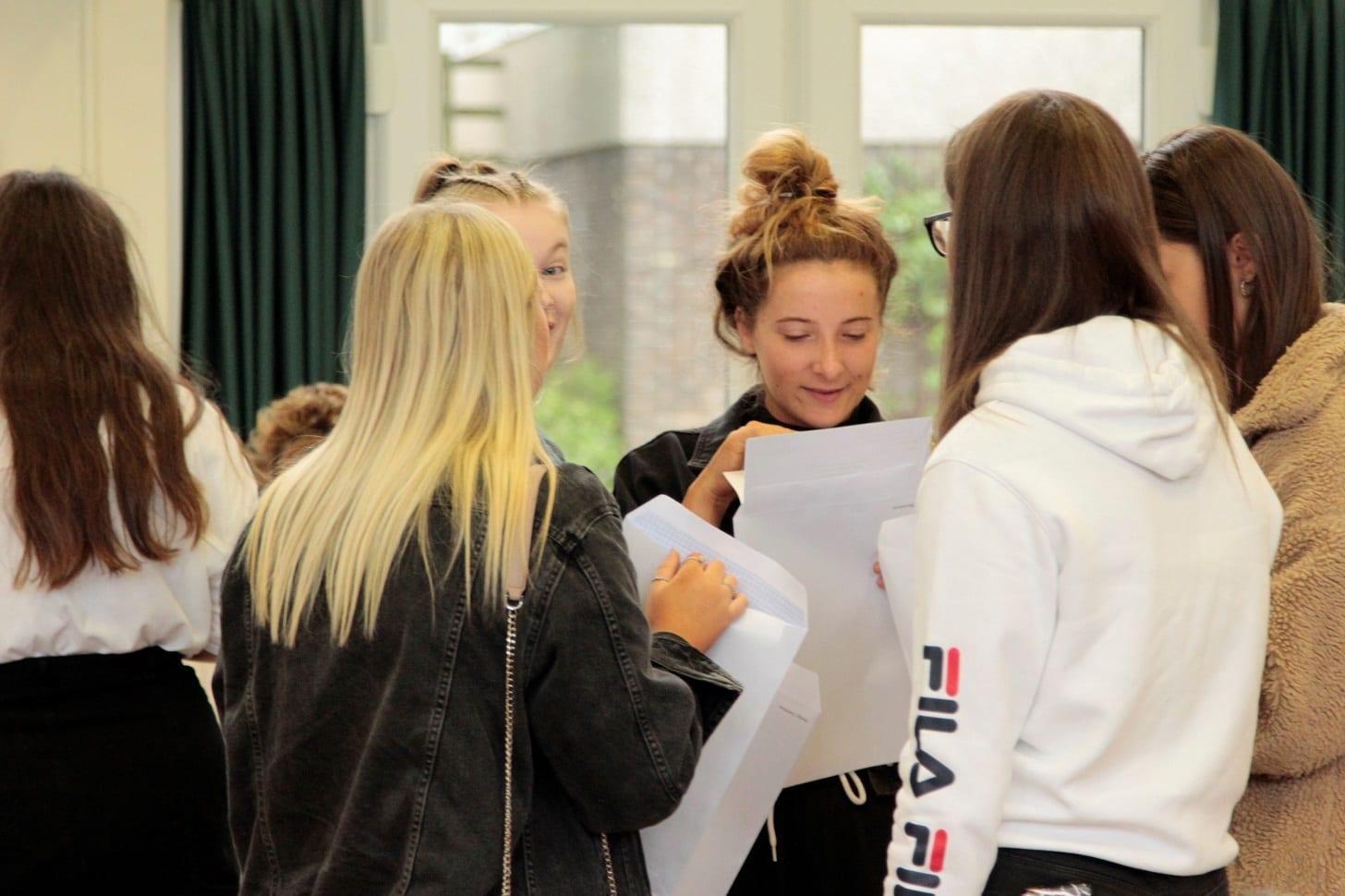 Walton students celebrate A Level success