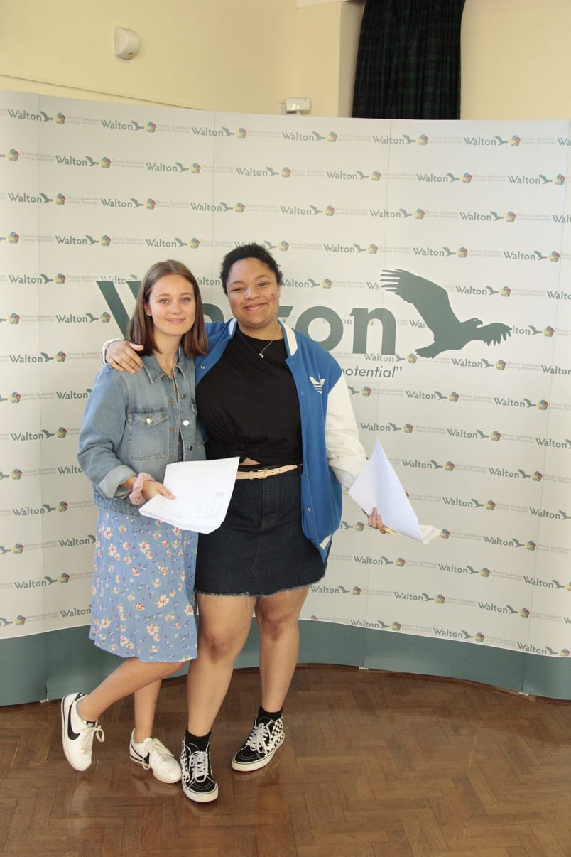 Progress and success for Walton in GCSE results