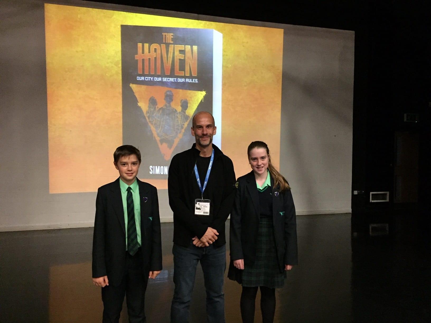 Bestselling children's author, Simon Lelic, visits Walton