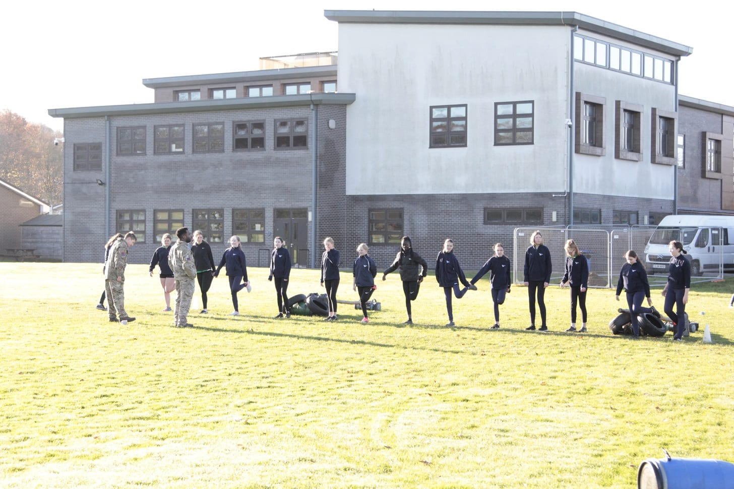 Year 9 students rise to the Army challenge!