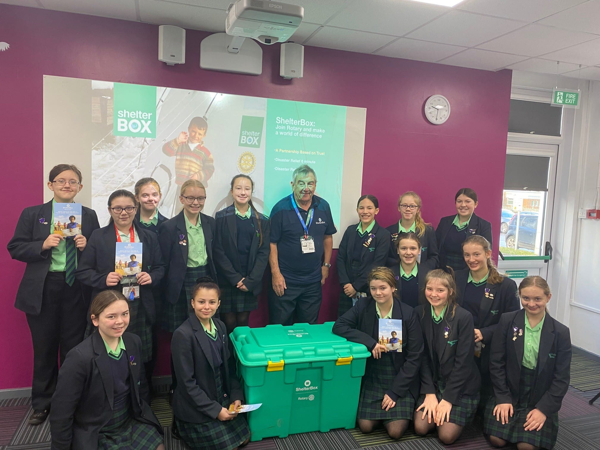 ShelterBox teaches students about the devastation of natural disasters