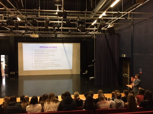 Walton launches EPQ for post 16 students