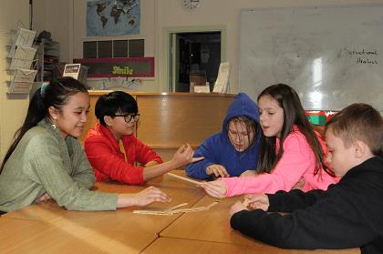 Students take part in National Storytelling Week